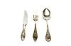 Spoon knife fork   Stock Foto