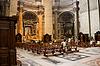 바티칸 성 베드로 '성당 내부   Stock Foto