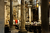 Photo 300 DPI: Catholic priests inside cathedral in Pisa