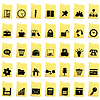 Vector clipart: business and office icon set