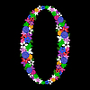 Vector clipart: floral numeral