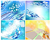 Vector clipart: technology background