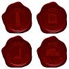 Vector clipart: Italy sealing wax set