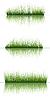 Векторный клипарт: травы на воде