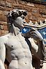 大卫雕像 | 免版税照片