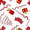 Векторный клипарт: Бесшовные Рождества