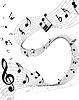 Векторный клипарт: музыкальные ноты