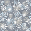 Seamless snowflakes background | Stock Vector Graphics