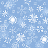 Photo 300 DPI: seamless snowflakes background