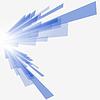 Technologischer blauer Hintergrund | Stock Vektrografik