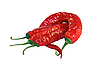 Red hot chili peppers   Stock Foto