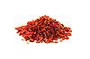 Red pepper pieces | Stock Foto