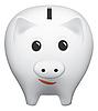 Vector clipart: Piggy bank
