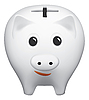 Vector clipart: Piggy bank