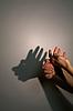 Фото 300 DPI: силуэт - тень аборигена