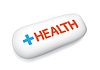 Vector clipart: Capsule of Health