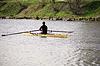 Photo 300 DPI: Man in Canoe