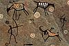 Rock paintings | Stock Foto