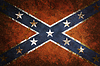 Vintage Confederate Flag | Stock Illustration