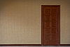 Zamknięte drzwi | Stock Illustration