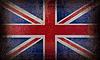 Photo 300 DPI: old grunge Britain flag