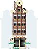 Vector clipart: holland house