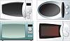 Векторный клипарт: Микроволновая печь