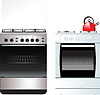 Vector clipart: Kitchen Stove