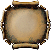 Round Rusty Scroll | Stock Illustration