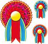 Vector clipart: Award Ribbons