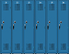 Vector clipart: School lockers