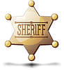 Sheriff Star | Stock Vector Graphics