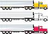 Векторный клипарт: грузовик коллег