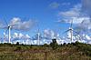 景观与风力涡轮机 | 免版税照片