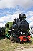 蒸汽机车 | 免版税照片
