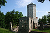 Ruins of castle in Paide | Stock Foto