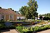 Garden of manor | Stock Foto