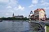 Photo 300 DPI: Quay in Kaliningrad