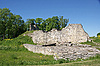 성곽의 유적 | Stock Foto
