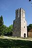 Porkuni의 성 타워 | Stock Foto