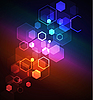 Vector clipart: Stylized abstract background