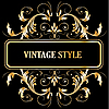 Vintage decorative frame | Stock Vector Graphics