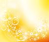 Векторный клипарт: Золотое Рождество фона