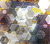 Vector clipart: Abstract Background in techno style