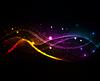抽象波 | 光栅插图