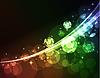 Vektor Cliparts: abstrakter leuchtender Hintergrund