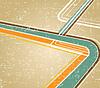 Vektor Cliparts: Retro-Hintergrund