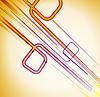 Векторный клипарт: красочный фон с движущимися линиями