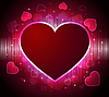 Vector clipart: Valentine`s day background