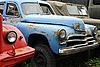 빈티지 녹슨 자동차 | Stock Foto